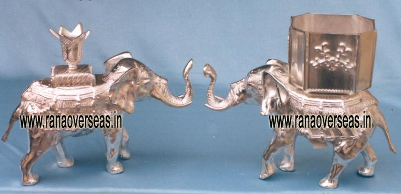 Metal Candle Stands in Elephant Style11 - 12