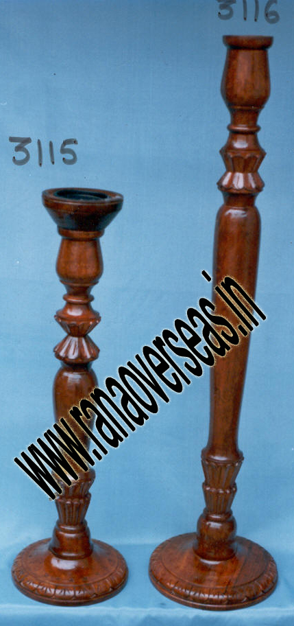 Wooden Candle Stands 3115 , 3116