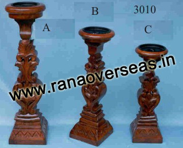 Wooden Candle Stands 3010