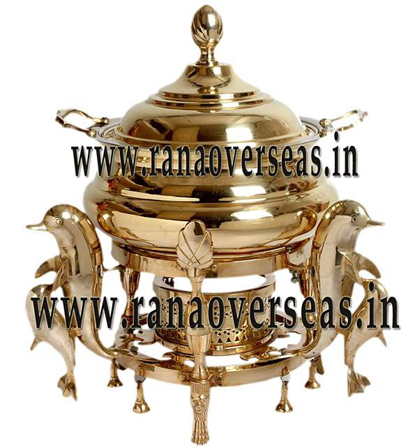 Chafing Dish in Brass Item No.6