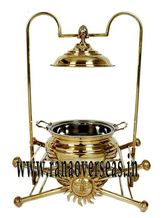 Chafing Dish in Brass Item No.9
