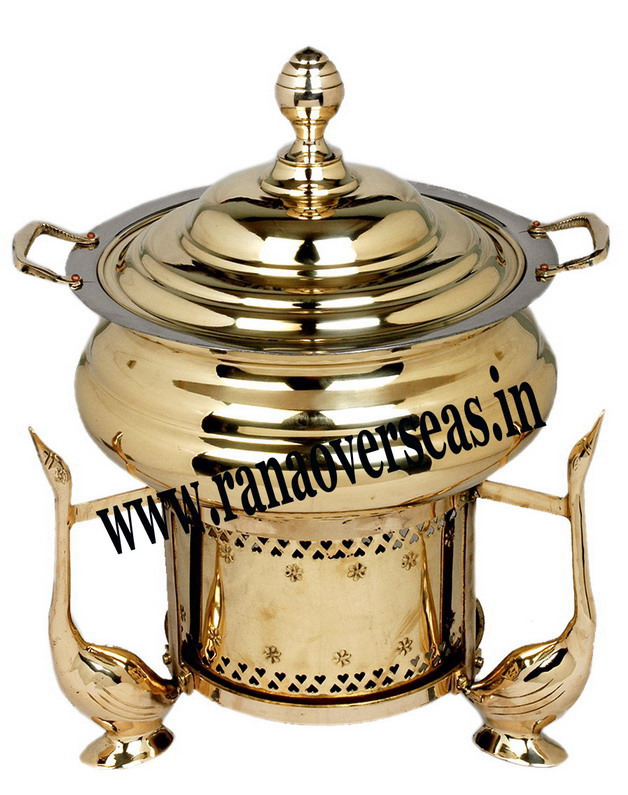 Chafing Dish in Brass Item No.12