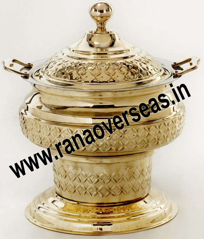 Chafing Dish in Brass No.47