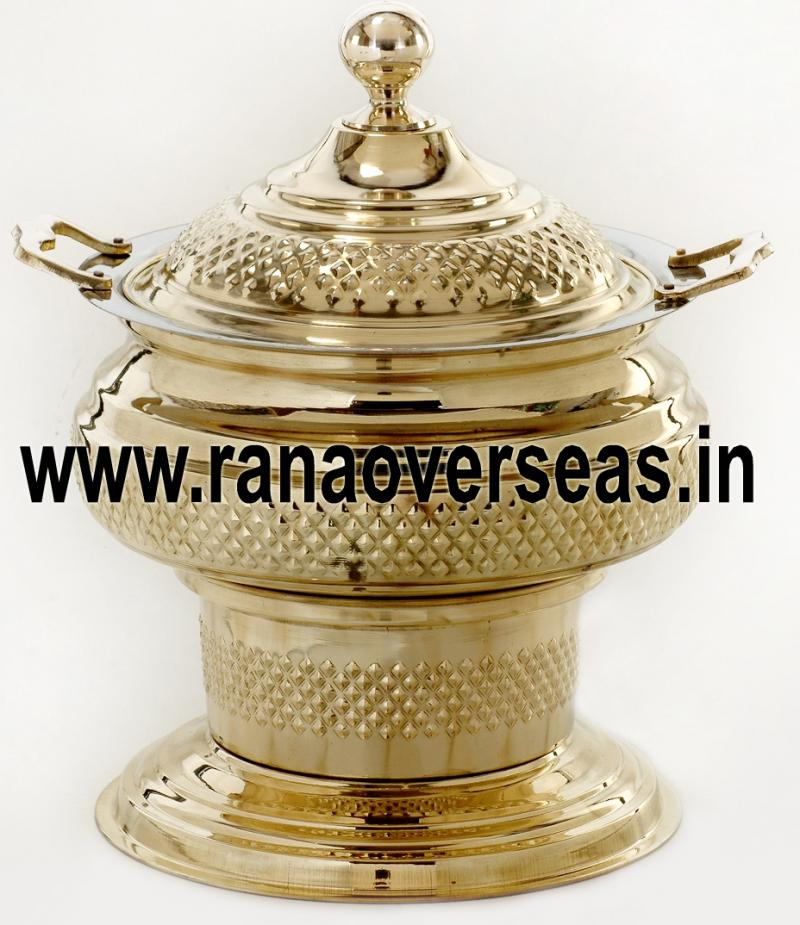 Chafing Dish in Brass No.48