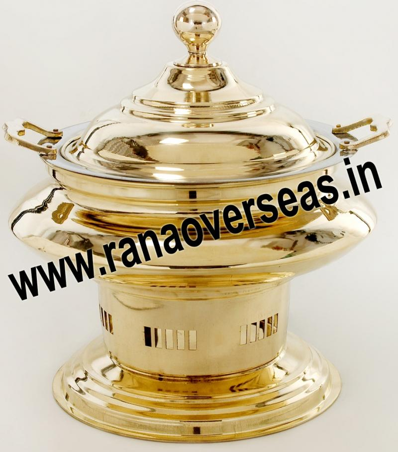 Chafing Dish in Brass No.49