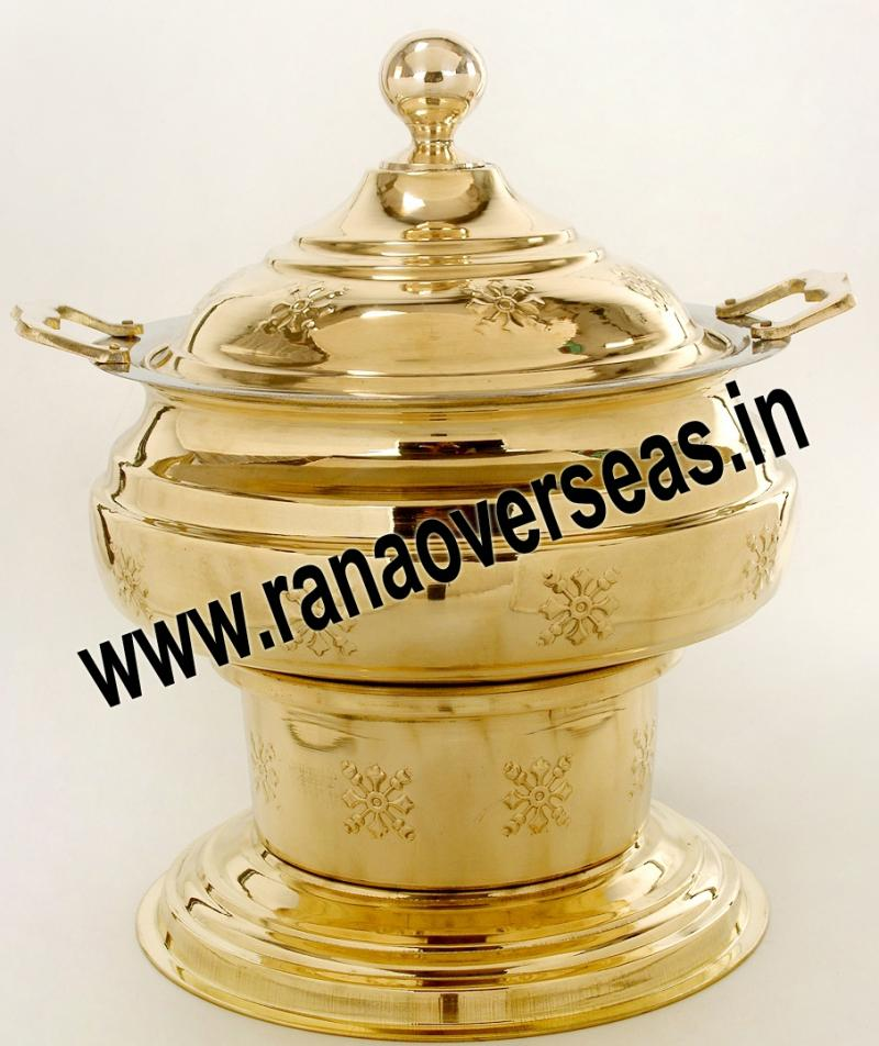 Chafing Dish in Brass No.50