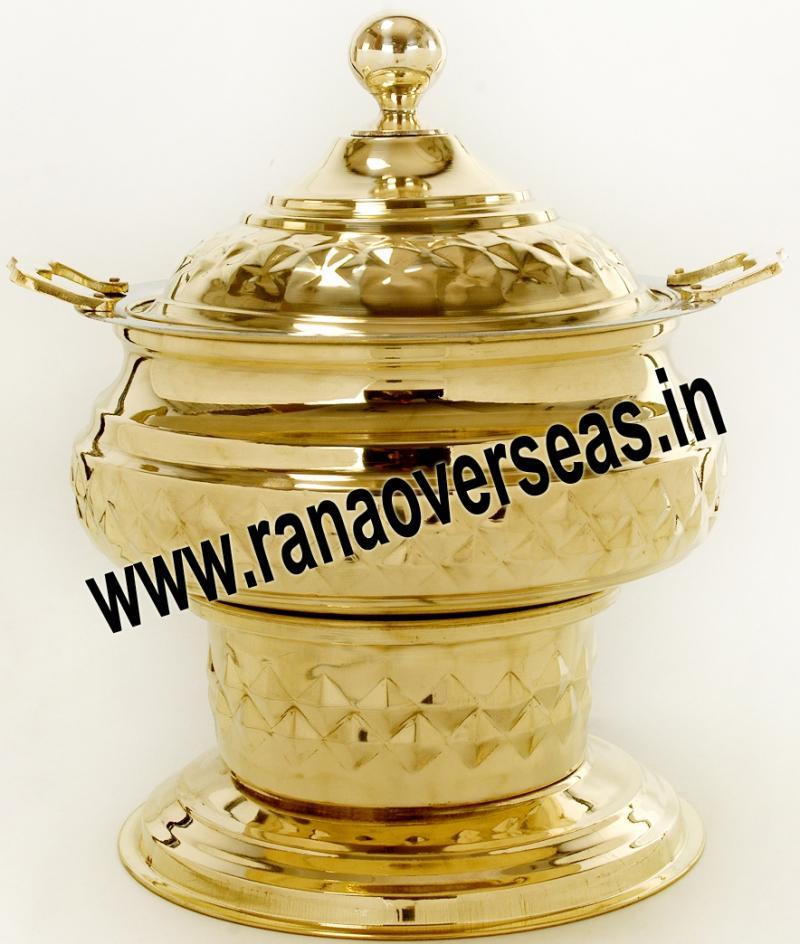 Chafing Dish in Brass Item No.51