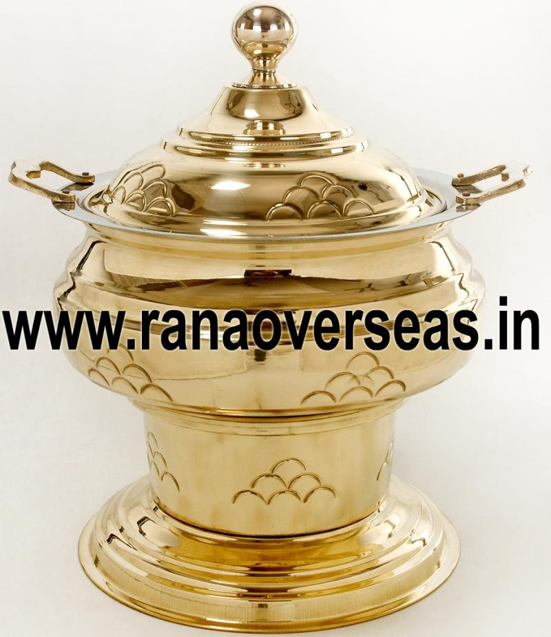 Chafing Dish in Brass Item No.52