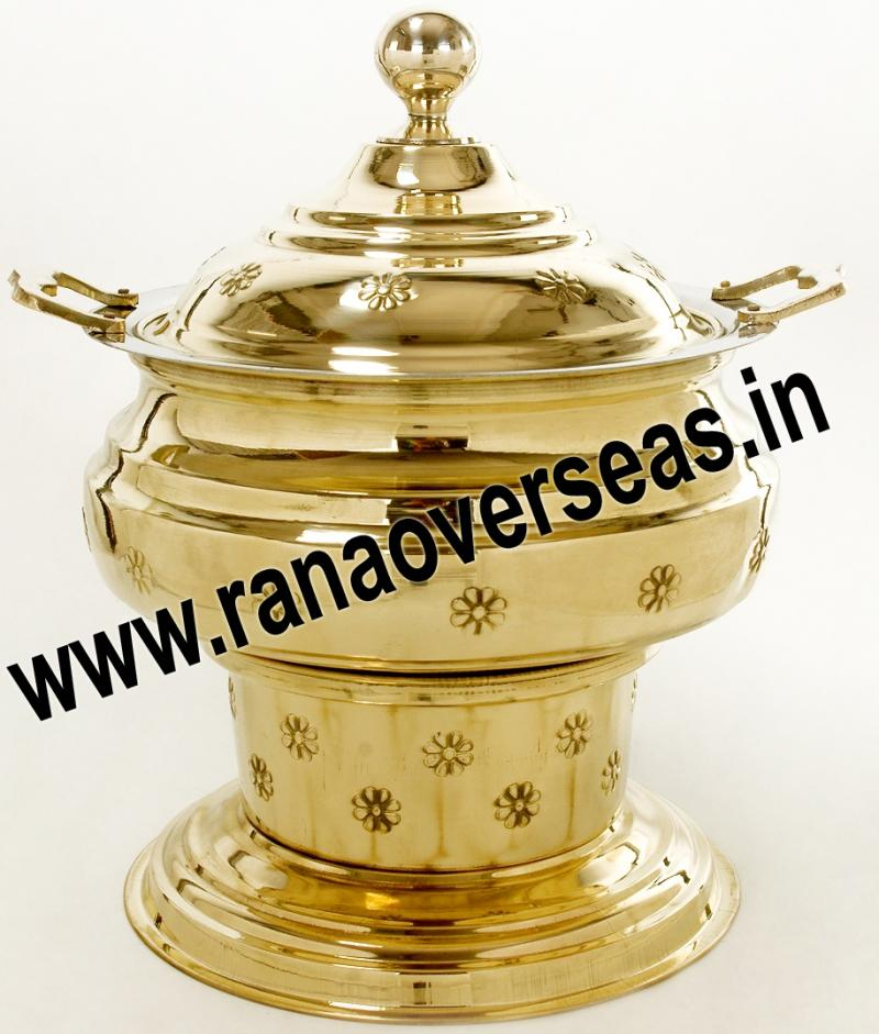 Chafing Dish in Brass Item No.53