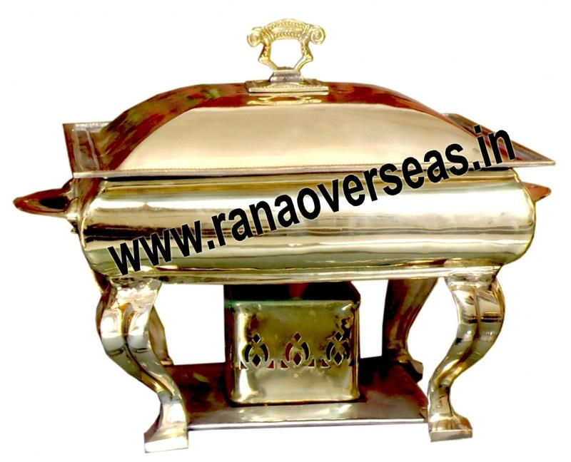 Chafing Dish in Brass Item No.54