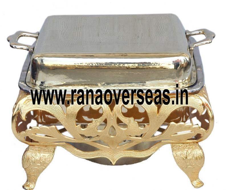 Chafing Dish in Brass Item No.56