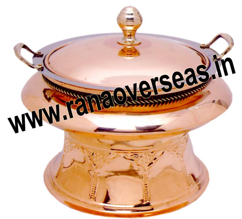 Chafing Dish in Brass Item No.58