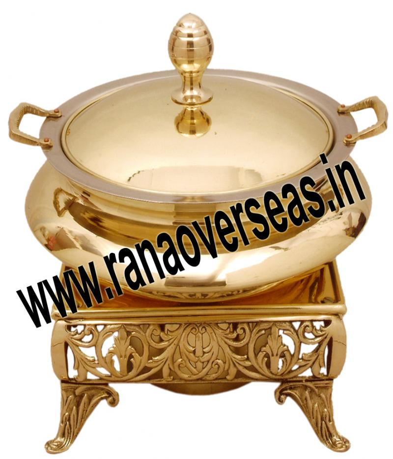 Chafing Dish in Brass Item No.59