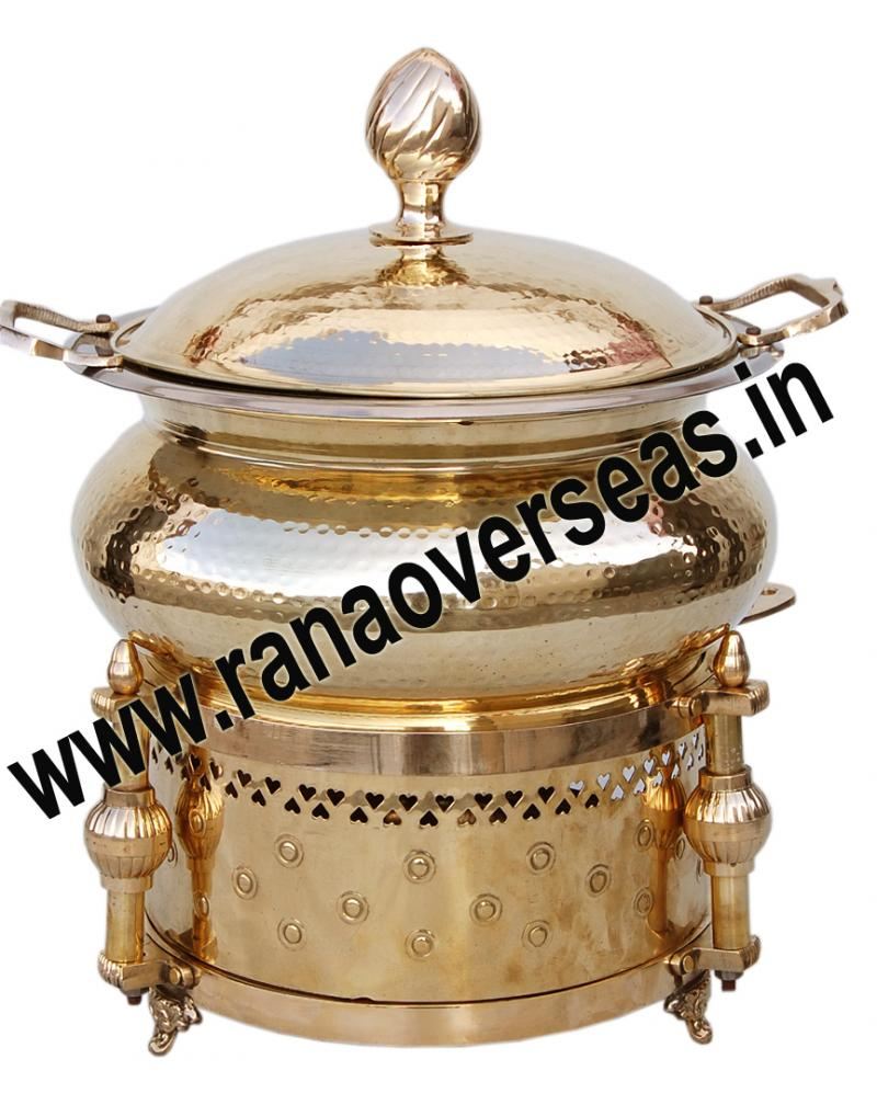 Chafing Dish in Brass Item No.64