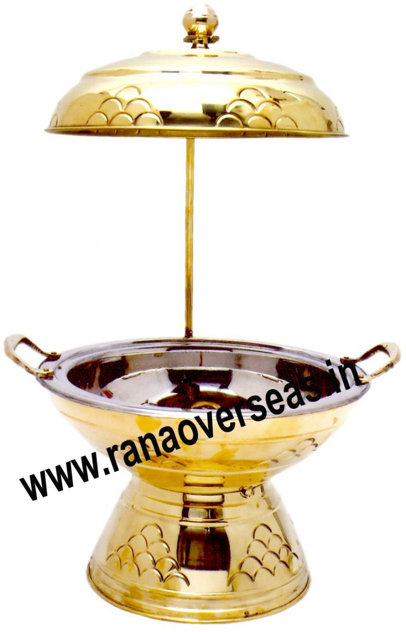 Chafing Dish in Brass Item No.74