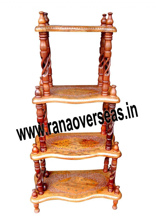 rana overseas inc wooden corner racks