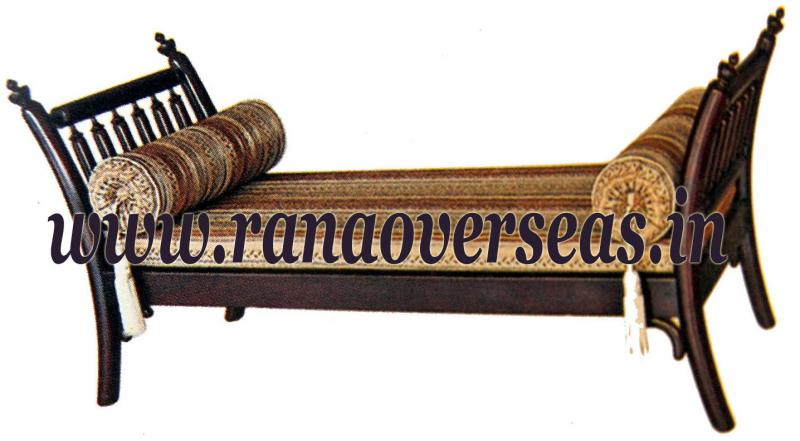 Rana Overseas Inc Wooden Diwan Set