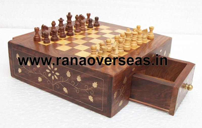 Wooden Chess Set 2